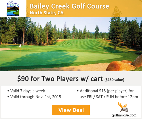 Bailey Creek Golf Course Special