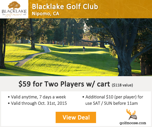 Blacklake Golf Club Special
