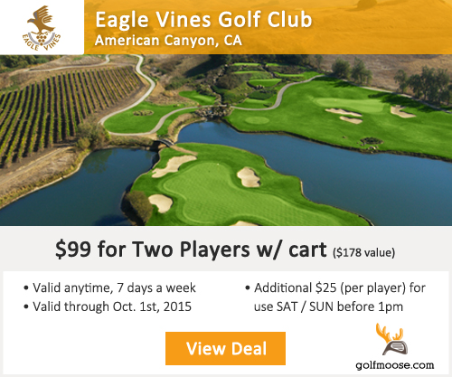 Eagle Vines Golf Club Special
