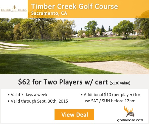 Timber Creek Golf Course Special