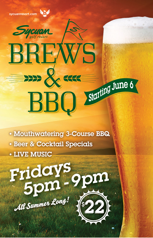 Brews and BBQ Sycuan Resort