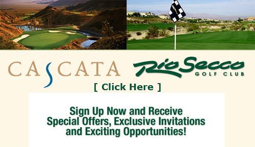 Special Offers Golf Course