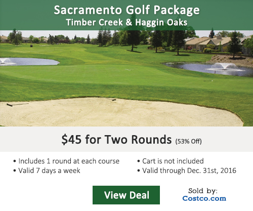 Timber Creek Golf Club Costco Special