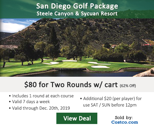 Steele Canyon Golf Club Deal