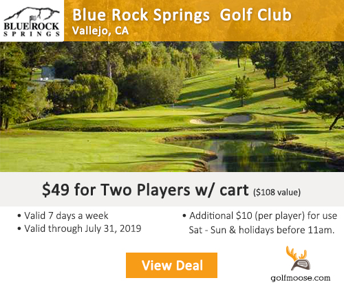 Blue Rock Springs Golf Club Special