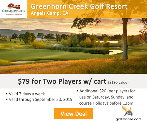 Greenhorn Creek Golf Resort Special
