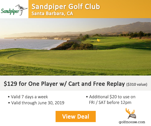Sandpiper Golf Club Special