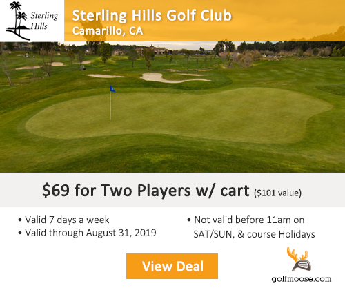 Sterling Hills Golf Club Special
