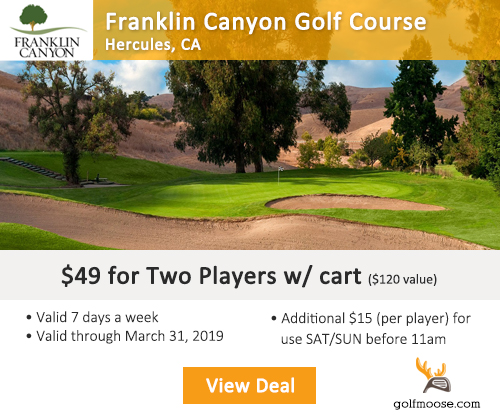 Franklin Canyon Golf Course Special