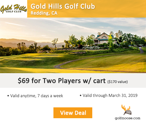 Gold Hills Golf Club Special