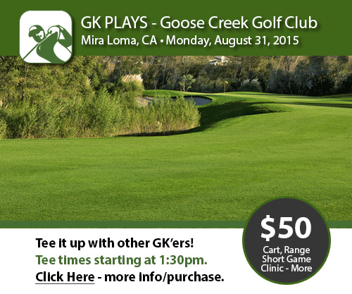 GK Plays Goose Creek Golf Club