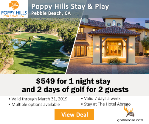 Poppy Hills Play & Stay Special