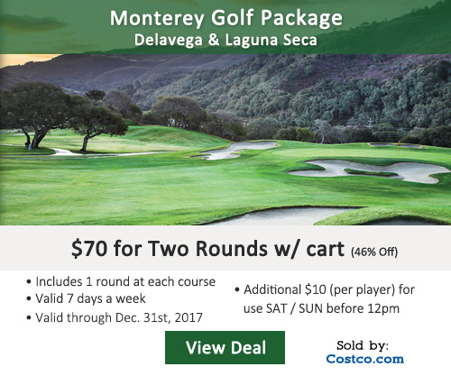 Laguna Seca Golf Course Costco Special