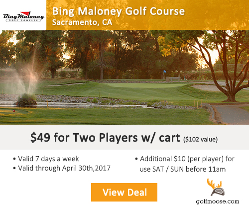 Bing Maloney Golf Course Special