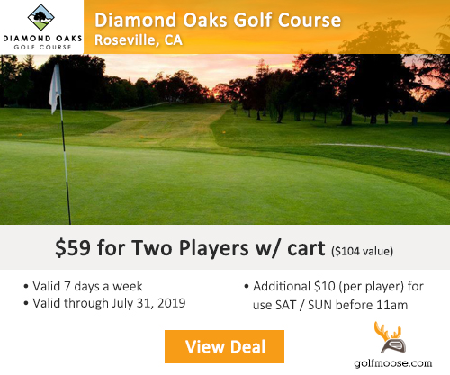 Diamond Oaks Golf Club Special