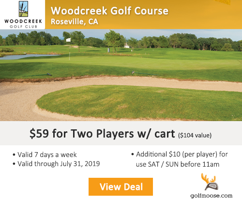 Woodcreek Golf Club Special