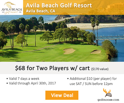 Avila Beach Golf Resort Special