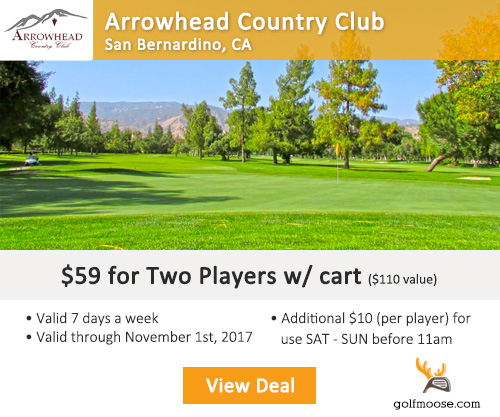 Arrowhead Country Club Special