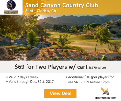 Sand Canyon Golf Club Special