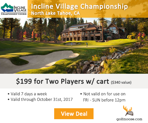 Incline Village Golf Course Special