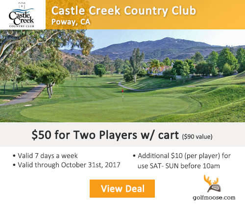 Castle Creek Country Club Special