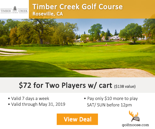 Timber Creek Golf Club Special