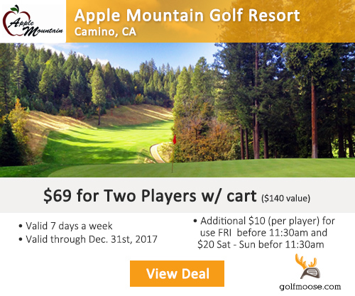 Apple Valley Golf Course Special