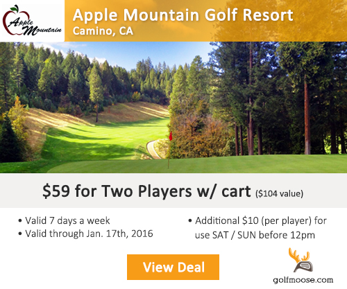 Apple Mountain Golf Resort Special