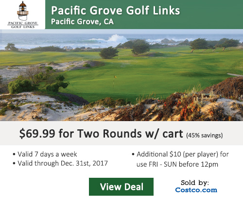 Pacific Grove Golf Links Discount