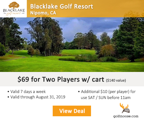 Blacklake Golf Resort Special