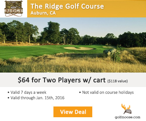 The Ridge Golf Course Special