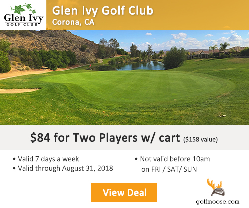 Glen Ivy Golf Course Special