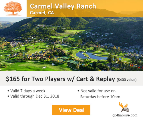 Carmel Valley Ranch Golf Course Special